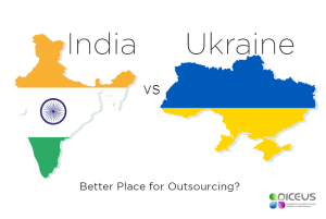 Ukraine vs India - the best outsourcing destination - Diceus