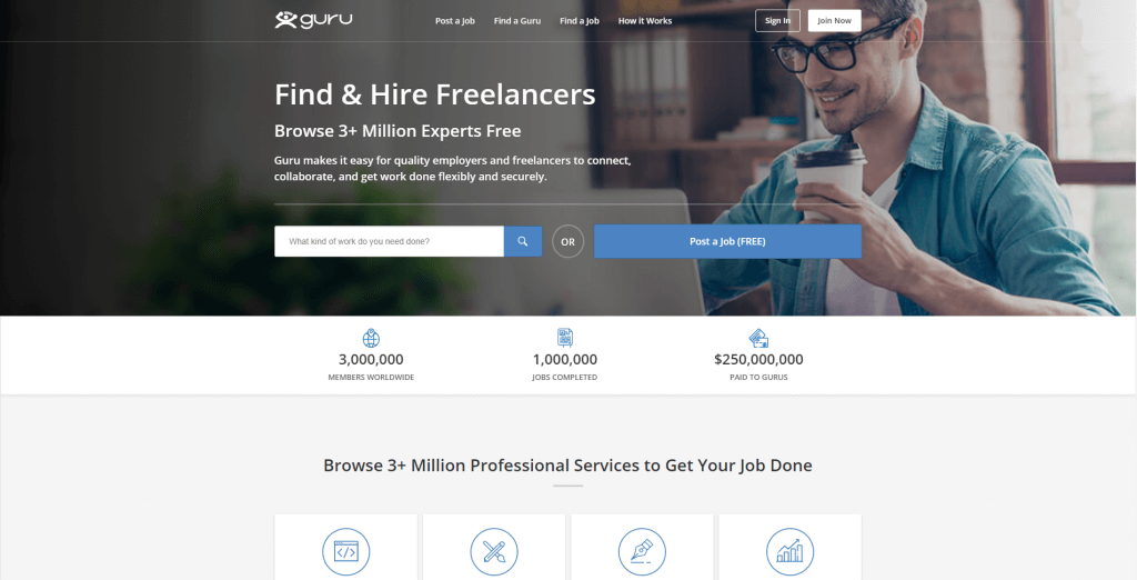 Guru - software development marketplaces