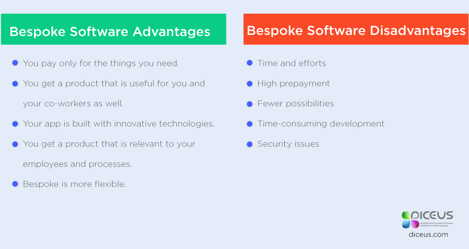 Advantages and Disadvantages of Custom Software Development | Arkbauer
