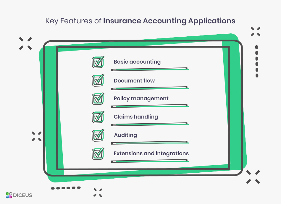 Features of accounting software for insurance brokers