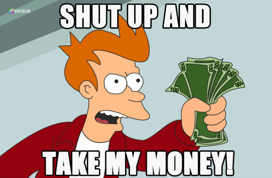 Shut up and take my money for insurance software development | Diceus