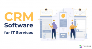 CRM software for IT services