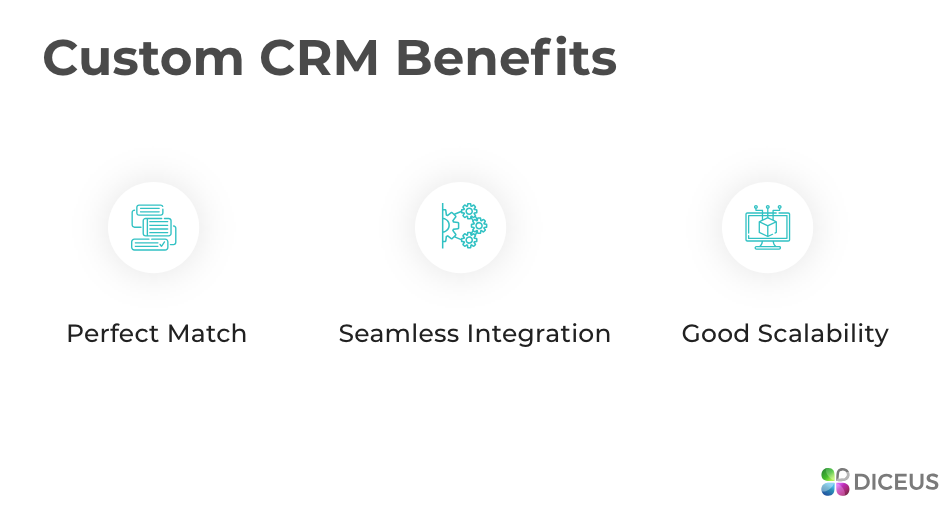 Pros of custom CRM developers