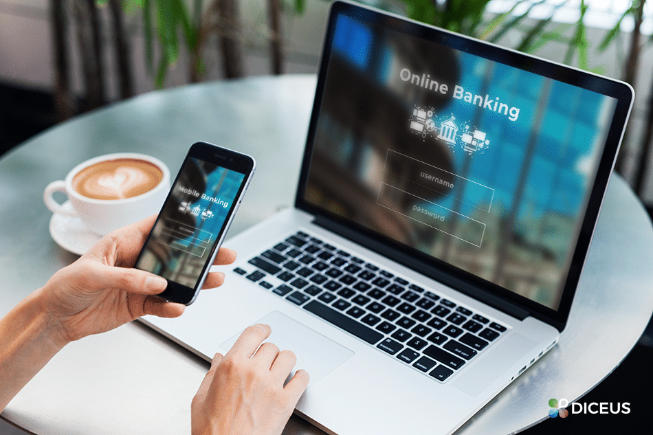 Mobile vs Online Banking | Diceus