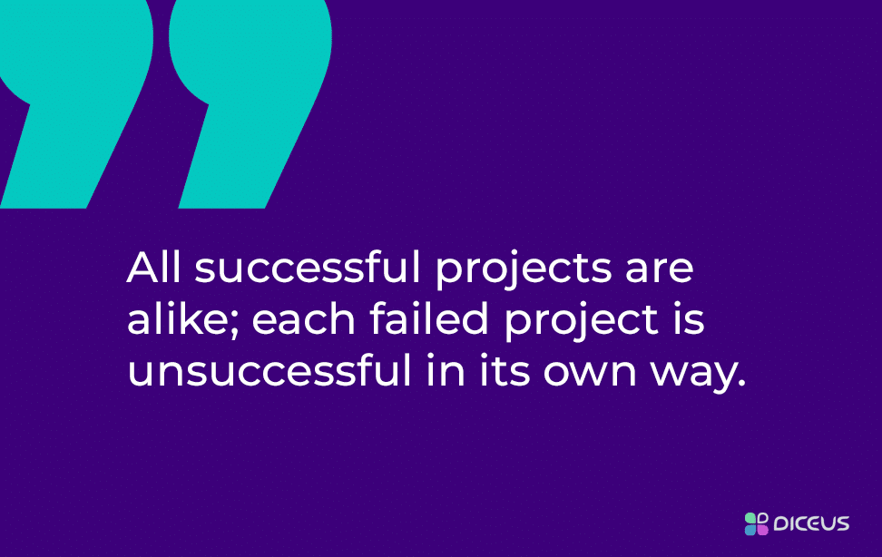 Project success - classic quote