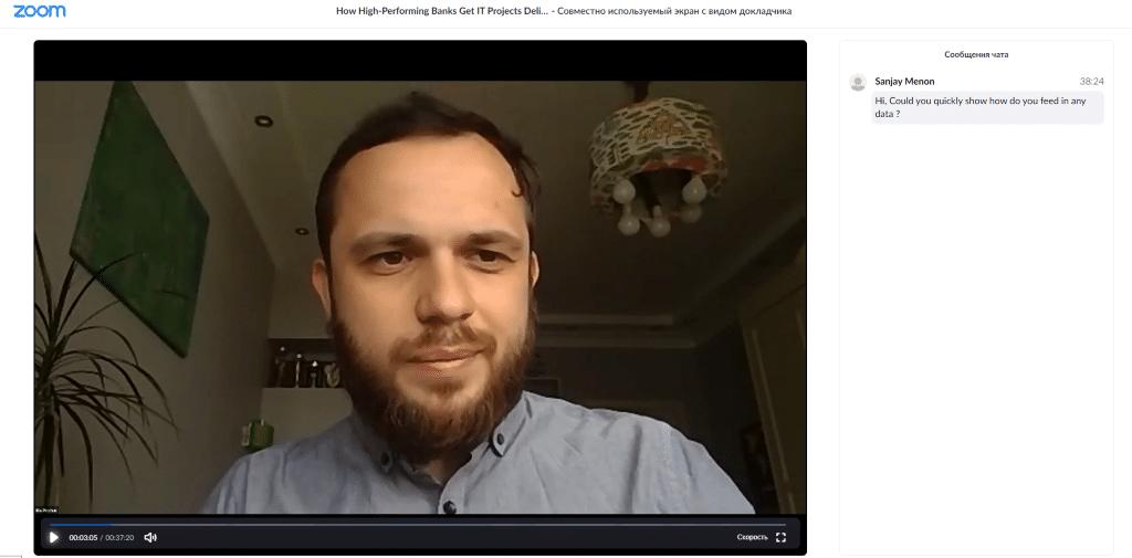 Illia Pinchuk CEO Webinar