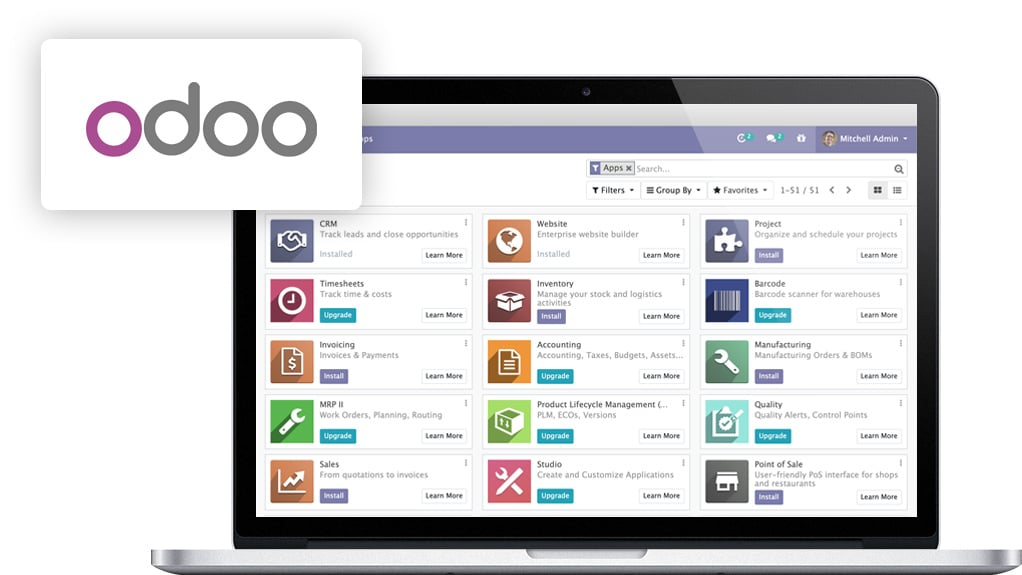 ODOO ERP | Diceus Custom ERP