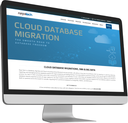 analytcal database migration solution key features