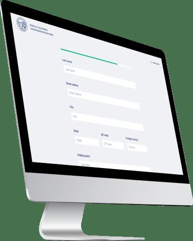 blockchain voting app key