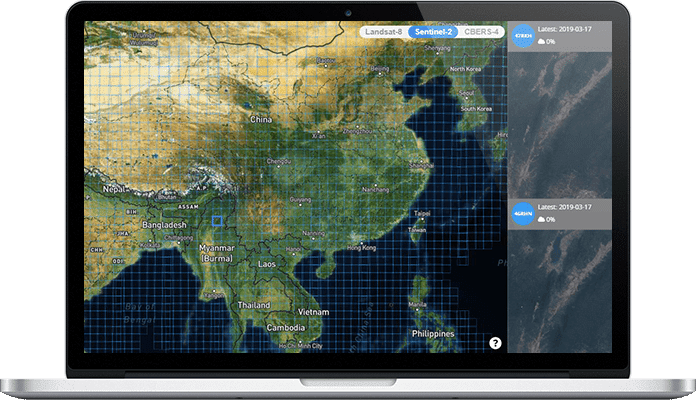 earth observation cloud based software solution