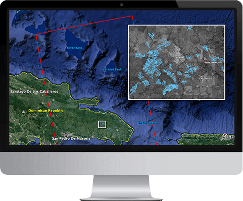 earth observation software for insurance niche key