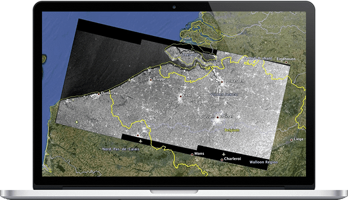 earth observation software for insurance niche project