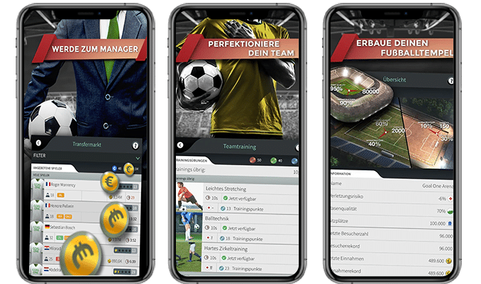 football manager mobile game for aeria games img project overview
