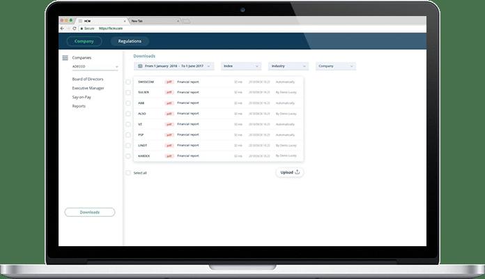 hcm data management system project