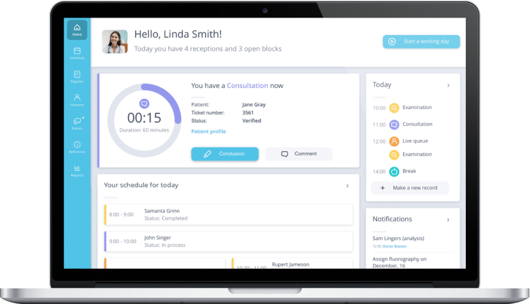 health system solution for restart consulting project