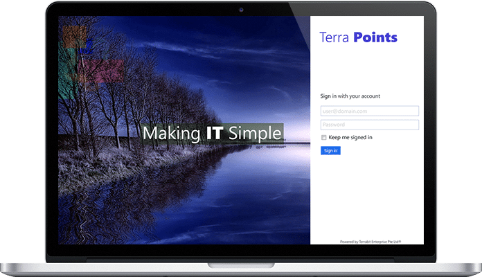 terra point cloud based web solution for terrabit project