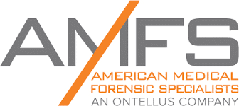 website and cms redesign for a medical forensic compony logo