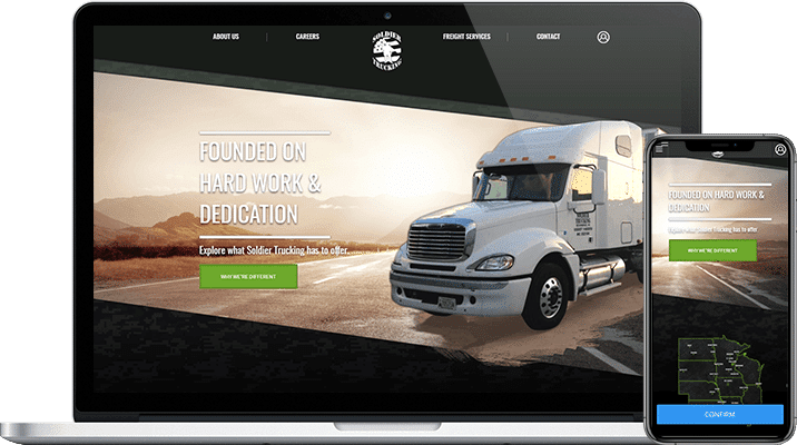 a fleet management application for soldier trucking img project overview