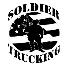 a fleet management application for soldier trucking logo