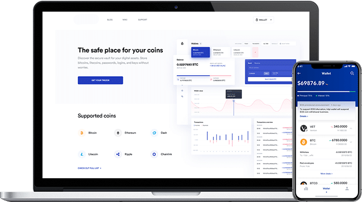 blockchain based crypto wallet for ico and crowdsales project