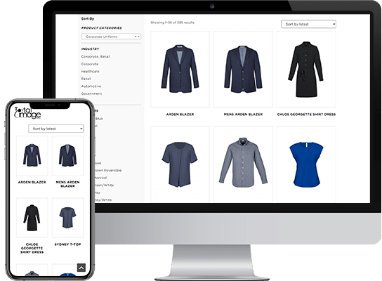 e commerce project for total image group img key future