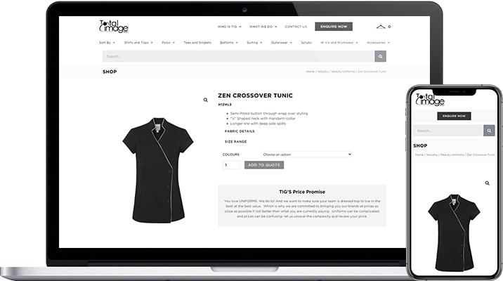 e commerce project for total image group img project overview
