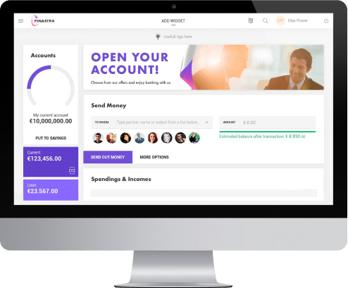 online banking development