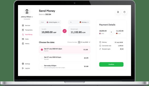online banking development 2