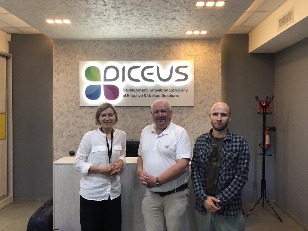 DICEUS Nordics representative is visiting the DICEUS headquarters in Kyiv.